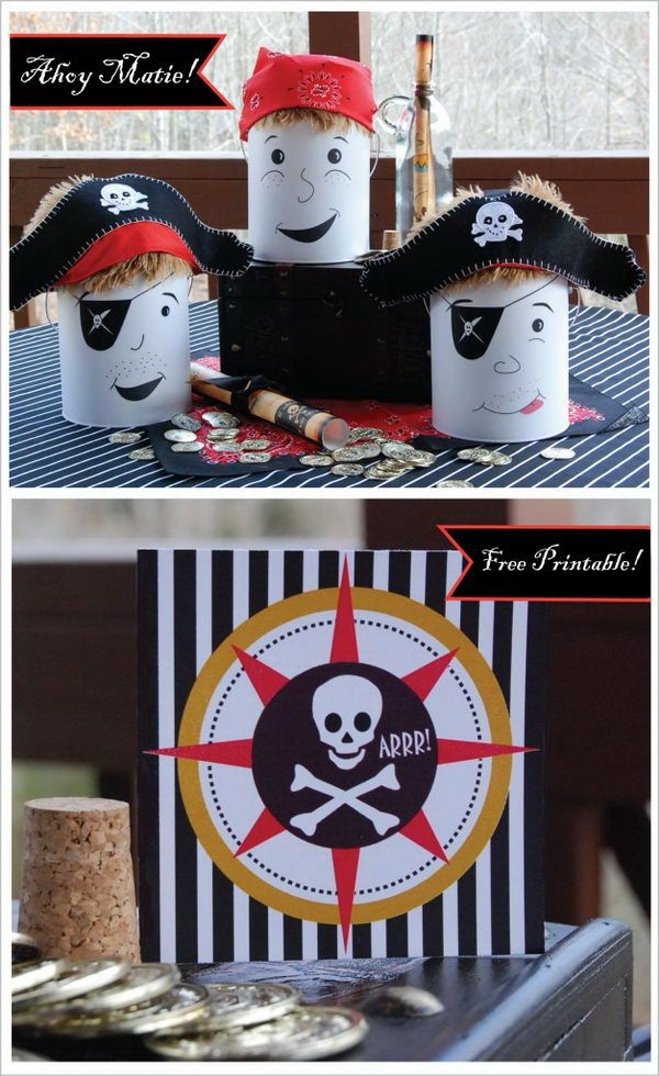 Jake and the Neverland Pirates Party Ideas,  http://bit.ly/1gM9Zkw, #diy, #ideas, #party