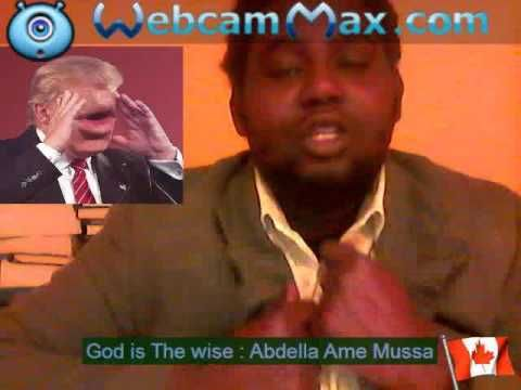 Donald Trump  Ultimated Banned  Pope Francis ---Abdella Ame Mussa