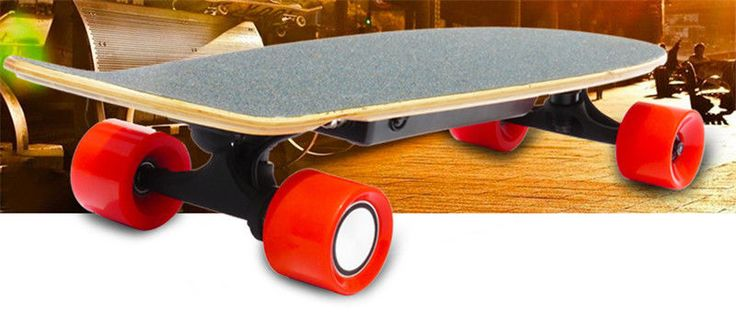 Four Wheel boost Electric Skateboard Wireless Remote controller Scooter Plate #Daibot