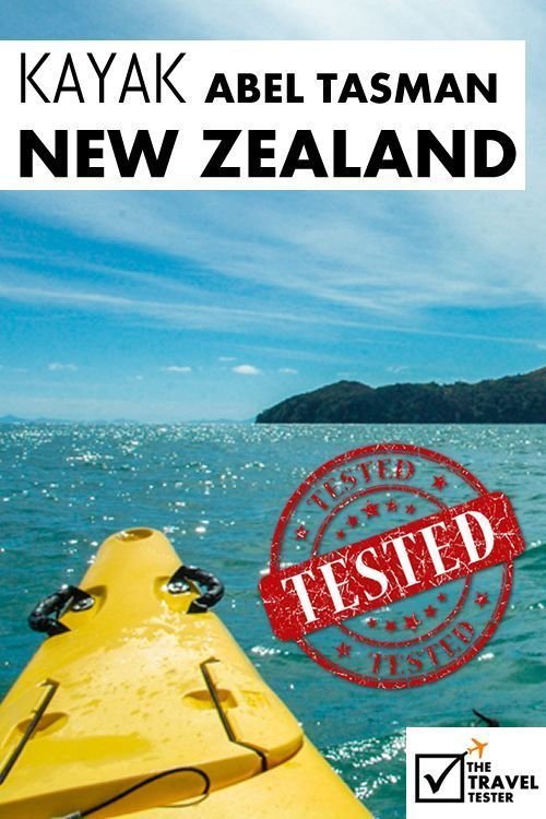 Bucket List Activity - Abel Tasman National Park: Scenic Kayaking New Zealand | The Travel Tester