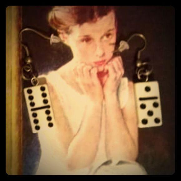 dominoe Earings dominoe Desighned earrings Jewelry Earrings
