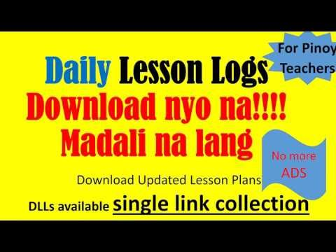 Download Ready Made Daily Lesson Logs Lesson Plan DepEd