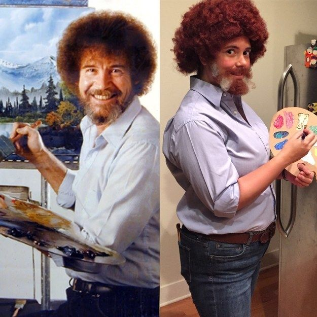 And, of course, Bob freaking Ross: | 26 Insanely Clever Halloween Costumes Every TV Lover Will Want