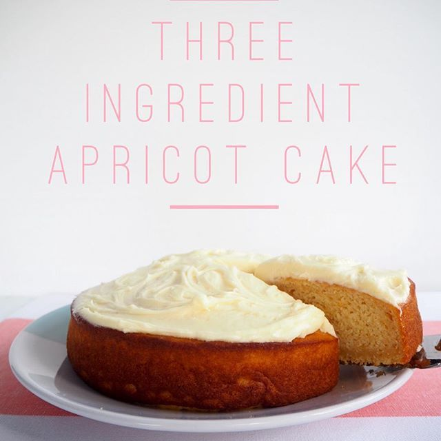 NEW ON THE BLOG TODAY... Three Ingredient Apricot Cake. It's egg free, dairy free and nut free. #eggfree #dairyfree #nutfree #threeingredients #ontheblog #livelinkinprofile #foodblog #foodblogger #aussieblogger #busymum #cooking