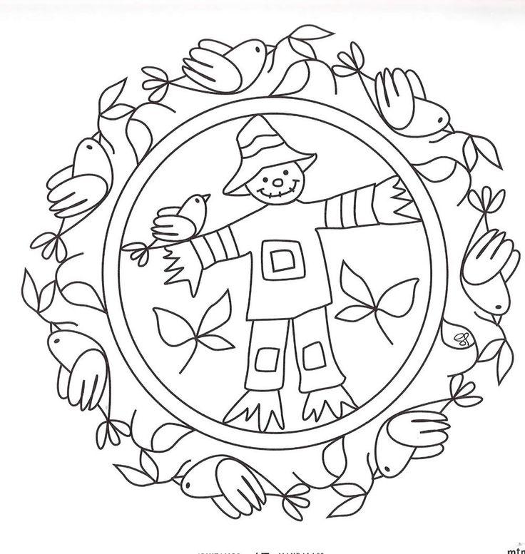 Dibujos de mandalas bordado a mano mandalas mandalas - Dibujos infantiles originales ...
