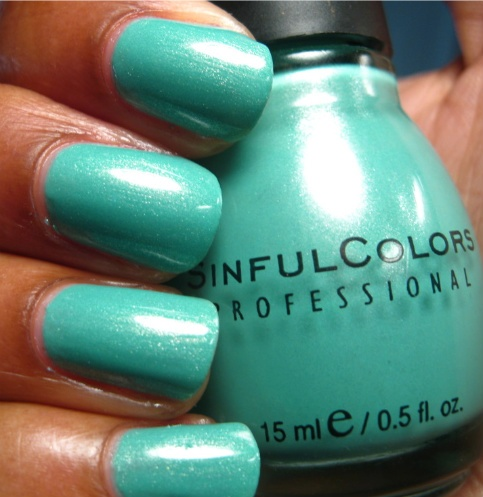 Sinful Colors - 'Mint Apple': Nails Makeup Hair1830, Woman Hair Nails Clothes Shoes, Sinfulcolors Collection, Hair Nails Fashion, Beautiful Nails, Nail Colors, Hair Nails Clothes Shoes Ect, Sinful Colors