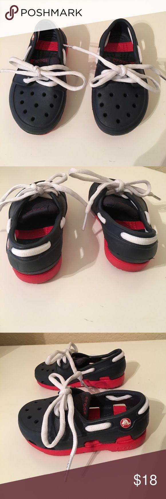 Crocs, baby boy, size 6 Lightly used CROCS Shoes Baby & Walker