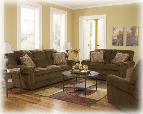 Cokato   Chocolate Living Room Set