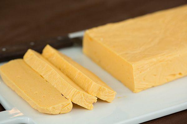 DIY: Homemade Velveeta Cheese | browneyedbaker.com #recipe