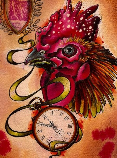 18 best rooster tattoos images on pinterest rooster tattoo roosters and tattoo ideas. Black Bedroom Furniture Sets. Home Design Ideas