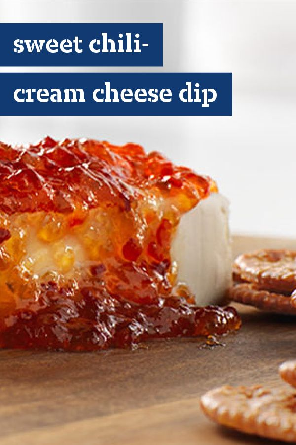 Sweet Chili-Cream Cheese Dip – Looking for something creamy and cheesy and a little hot and sweet to start the party? This sweet chili dip will do the trick. With an appetizer recipe as easy as this, you'll love hosting your holiday get-togethers!