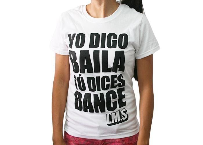 Instituto Mexicano del Sonido: T-shirt Yo digo baila (Mujer) - Kichink