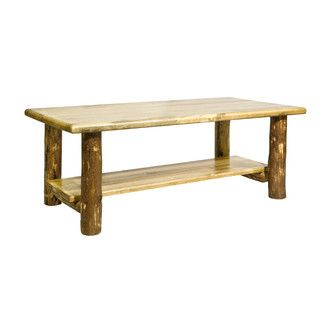 <strong>Montana Woodworks®</strong> Glacier Country Coffee Table with Shelf