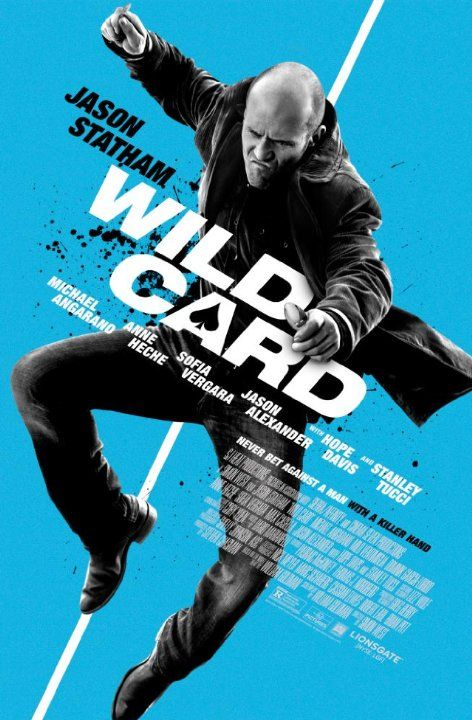 Wild Card - Always playing the loner, Jason Statham in this film that had less action than I was expecting.