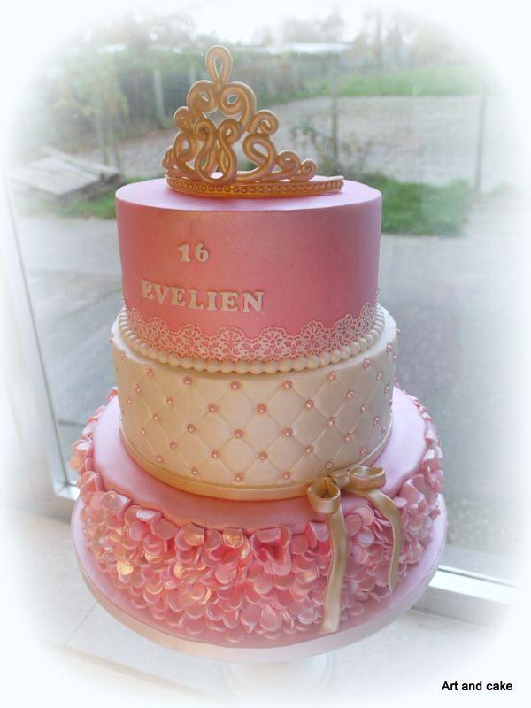 Prinses taart/cake