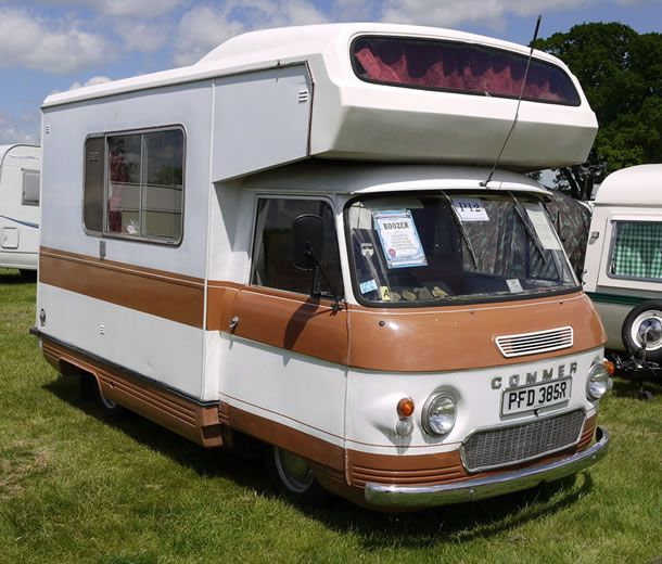 Photo of The Day: Commer Camper Van - Campingly