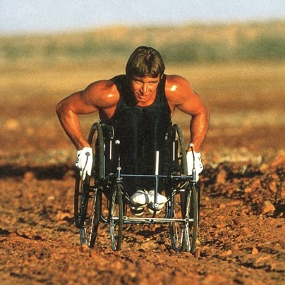 Rick Hansen, he started a movement that changed the lives of many disabled people.