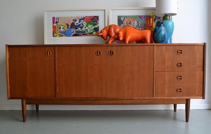 Australian made Parker furniture teak 60's sideboard, refurbished by tangerine&teal, www.tangerineandteal.com www.facebook/tangerineandteal