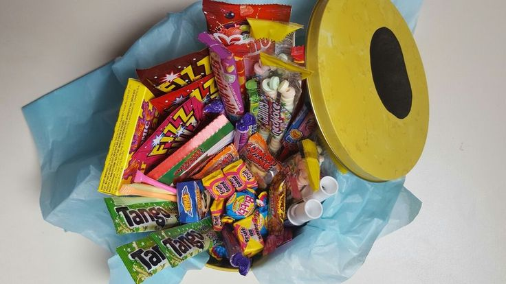 Retro Sweets Gift Tin Hamper- Birthday Present - Christmas -Thank You - Big Mix