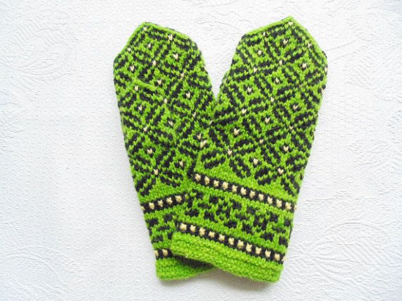 Stay warm and stand out Colorful hand knitted by GlobalHeating