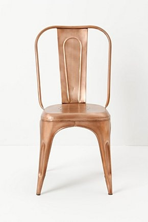 Rose Gold/Copper Redsmith Dining Chair