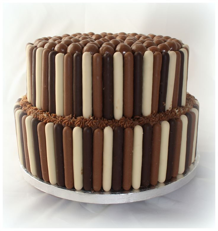 Cadbury Chocolate Fingers Cake-- Maybe to Celebrate Sarah's 22nd b-day?