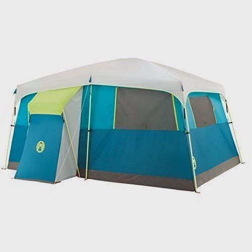 Cabin Camping Trip Tent 8 Person Outdoor Sleeping Sport Hiking WeatherTec System #CabinCampingTripTent8PersonOutdoorSleeping
