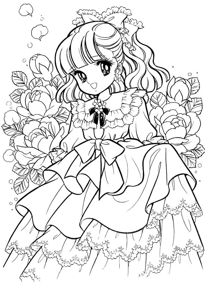 nour serhan uploaded this image to tinkle dreamy joanna colouring book see the album on photobucket - Manga Coloring Book