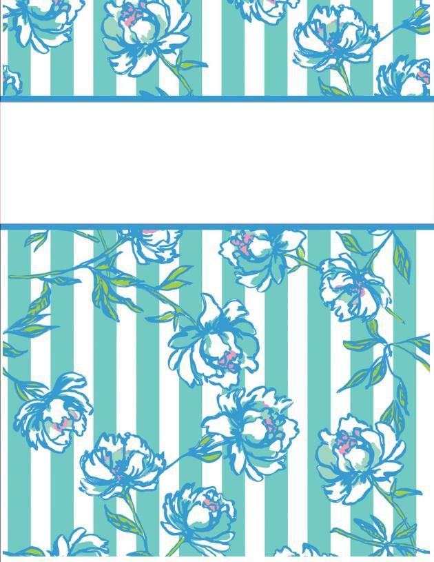 binder covers20 http://happilyhope.wordpress.com/2013/07/25/my-cute-binder-covers/