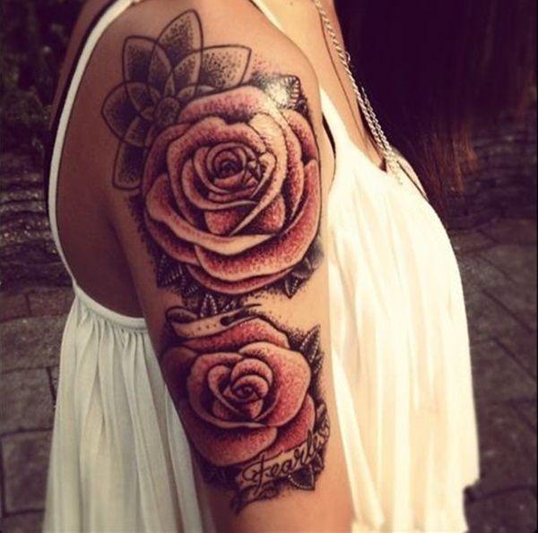Half sleeve tatoo