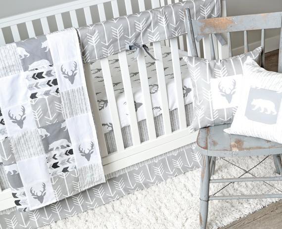 Gray Baby Bedding