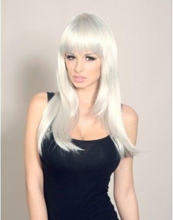Long Grey Wig | Stunning Long Grey Wigs Buy Online UK