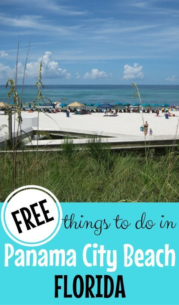 Panama City Beach Florida Is One Of The Country S Most Beautiful Beaches It Affordable Too But Can Be An Even More Budget Friendly Family Vacation If