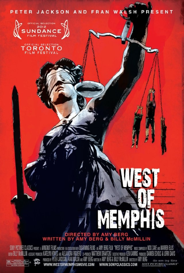 West of Memphis - if you have followed the Paradise Lost documentaries then this is a must-see. The last Paradise Lost film showed how the West Memphis 3 were released after 18 years of being locked up for a terrible crime. Did they do it? This film is produced by some of those people. Another fascinating look at the American justice system.