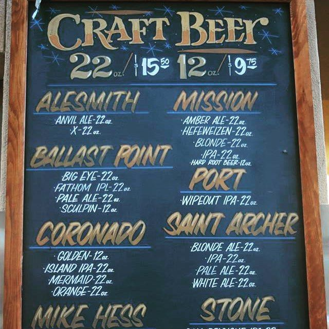No stadium on the entire planet can match the #CraftBeer selection of #PETCOPark. #craftbeergeek #craftbeerlife #craftbeerporn #cervejaartesenal #cervezaartesenal #CervejaEspeciais #breja #bier #biere #beer #cerveja #cerveza #beerpics #beerstagram #SaintArcher #MikeHess #stonebrewing #ballastpointbrewing #AleSmith #sdcraftbeer #sdcraftbeerporn #NikonD3300 #MissionBrewingCo #IndiaPaleAle #IPA #Sculpin #sandiego #Padres