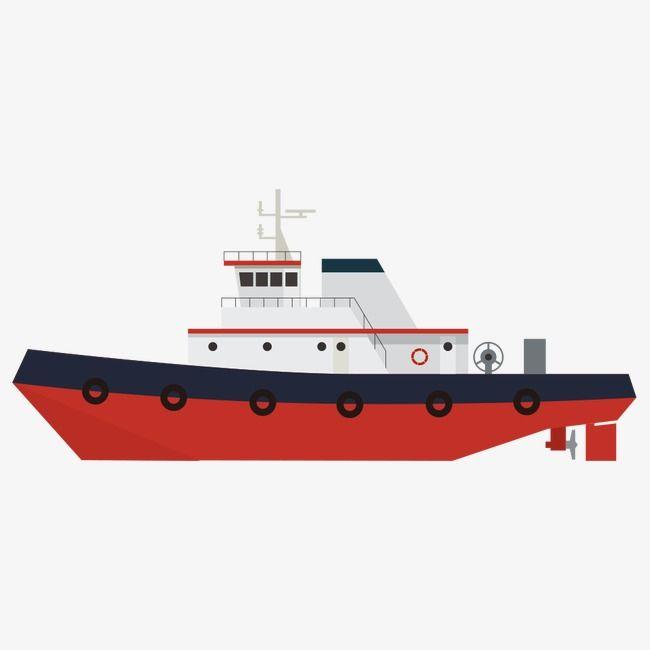 Cartoon Red Boat Boat Cartoon Cartoon Ships Boat