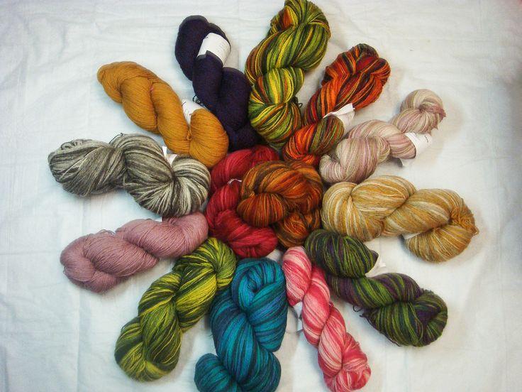 кауни пряжа/ wool yarn / for knitting / Kauni yarn