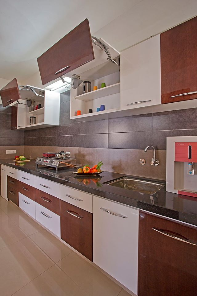 Pramukh modular kitchen provides modular kitchen services and Services after installation.  One month free service after installing the kitchen.