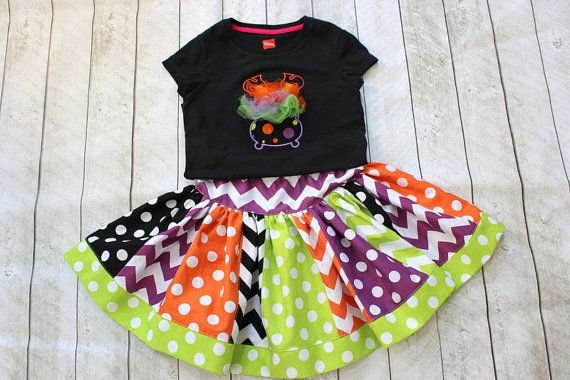 Hey, I found this really awesome Etsy listing at http://www.etsy.com/listing/157277802/halloween-skirt-chevron-skirt-chevron