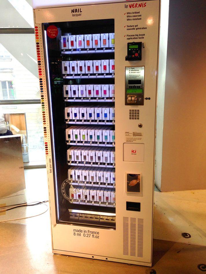scrubs vending machine