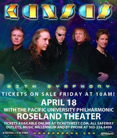 kansas rock band | Rock band Kansas to play alongside Pacific University Philharmonic in ...