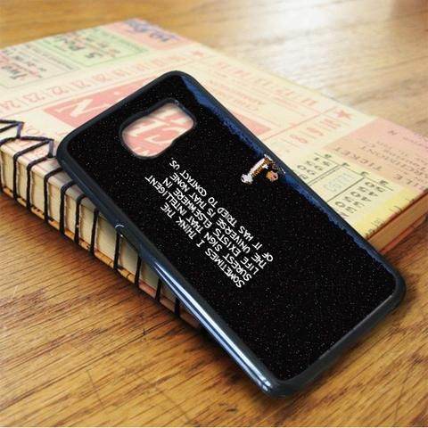 Calvin And Hobbes Quotes Samsung Galaxy S6 Case