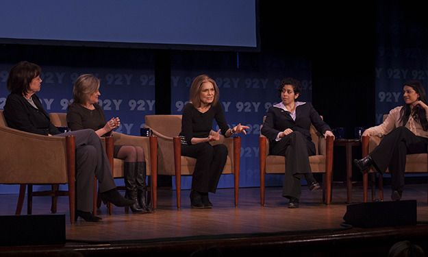 An amazing night with the iconic Gloria Steinem: The State of Feminism Today.