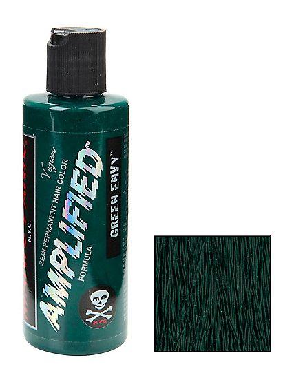Manic Panic Amplified Semi-Permanent Green Envy Hair DyeManic Panic Amplified Semi-Permanent Green Envy Hair Dye,