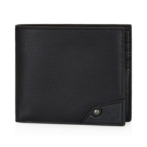 Tod's for Ferrari - Leather Wallet #ferrari #ferraristore #tods #accessories #wallet #leather #black #nero #madeinitaly #prancinghorse #cavallinorampante #myferraristore #musthave #ss2014 #springsummer