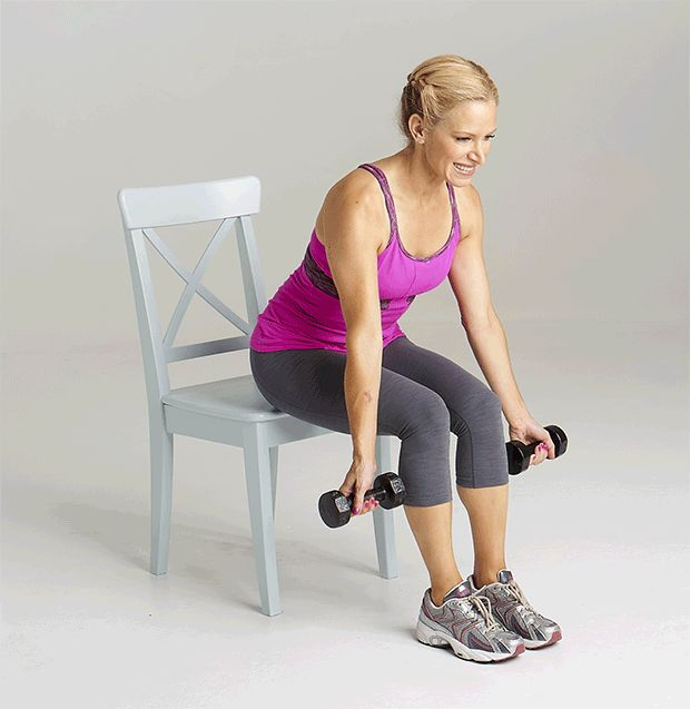 Top 10 Best Pilates Chairs For Home Exercises In 2018: 17 Best Ideas About Chair Exercises On Pinterest
