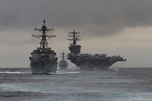 Nimitz Carrier Strike Group ships depart Pacific Northwest for deployment | Commander, U.S. Pacific Fleet