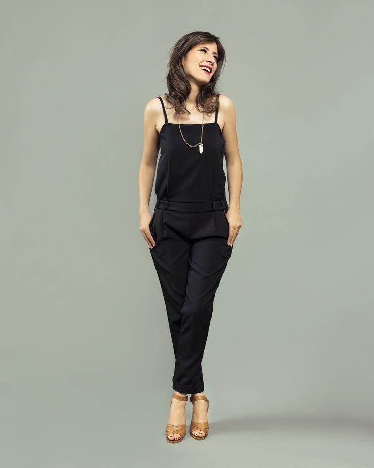 Combinaison Copenhague - patron de couture pour femme | Orageuse - jeune marque de patron créée en 2016. C'est tout nouveau tout beau! A partager sans modération