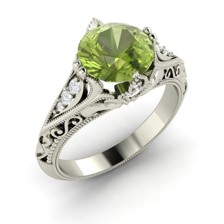61 best images about peridot engagement rings on pinterest. Black Bedroom Furniture Sets. Home Design Ideas