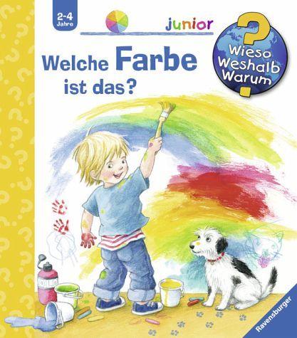 In diesem komplett neuen Buch lernen Kinder auf spielerische Weise die wichtigsten Farben kennen und benennen. Welche Früchte sind rot? Wo sind die Farben nachts?